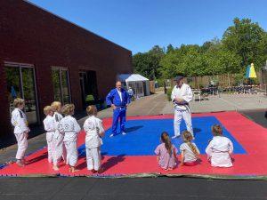 Judo in de buitenlucht