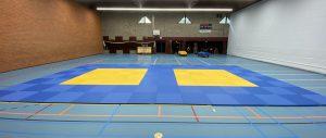 Judomatten in de Brinkhof